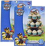 Paw Patrol Cupcake Treat Stand Holds 24 Cupcakes!(2 stands)