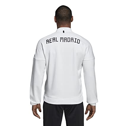 Amazon.com: adidas Real Madrid ZNE - Chaqueta (núcleo blanco ...