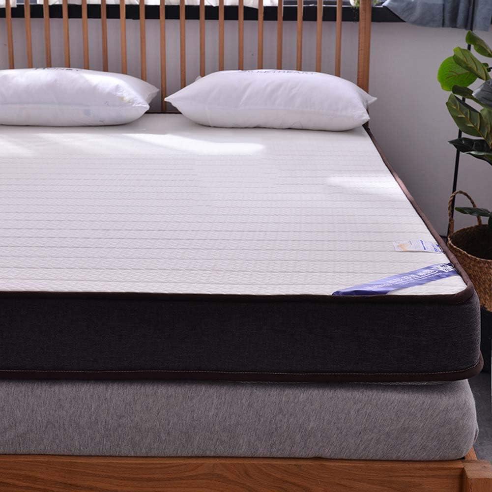 AICKERT Colchón Látex 90 * 200cm~180 * 200cm Tatami Japonés Confort futón Enrollable Funda antialérgica colchón Cama Plegable Cubre colchón,White,100 * 200 * 5cm: Amazon.es: Hogar