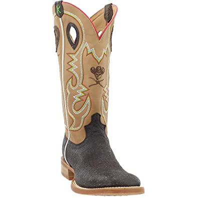 819f099e48c Amazon.com | Twisted X Men's Ruff Stock Cowboy Boot Square Toe | Boots