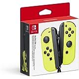 Nintendo - Set De Dos Mandos Joy-Con Izquierda Y Derecha, Color Amarillo (Nintendo Switch)