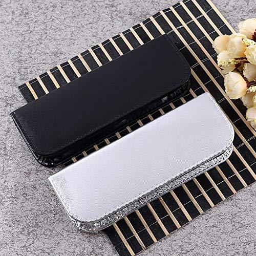 Entfernung der Nadel zum Entfernen von Heftklammern Schwarz BRZM Werkzeuge für Popolar-Makeup-Pinzette aus Edelstahl 5 Stück