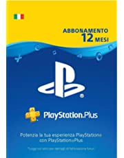 PlayStation Plus Abbonamento 12 Mesi | Codice download per PSN - Account italiano