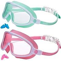 Seago - anteojos de natación (2 unidades, antivaho y antirayos UVA)