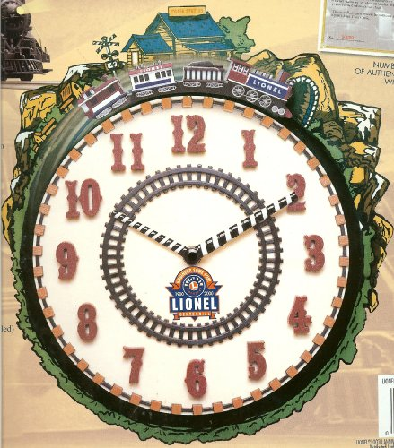 Lionel 100th Anniversary Train Clock 1900-2000 - Anniversary Train