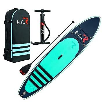 Amazon.com: Rokia R - Tabla de surf de remo hinchable de 11 ...