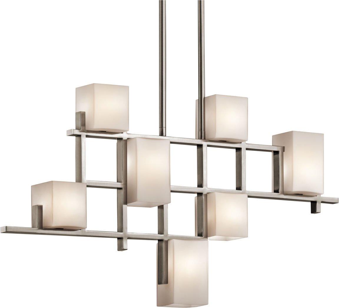 Kichler 42941CLP Seven Light Linear Chandelier - - Amazon.com for modern chandelier png  186ref