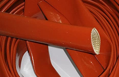 Guaina vetro-silicone diametro 3 mm
