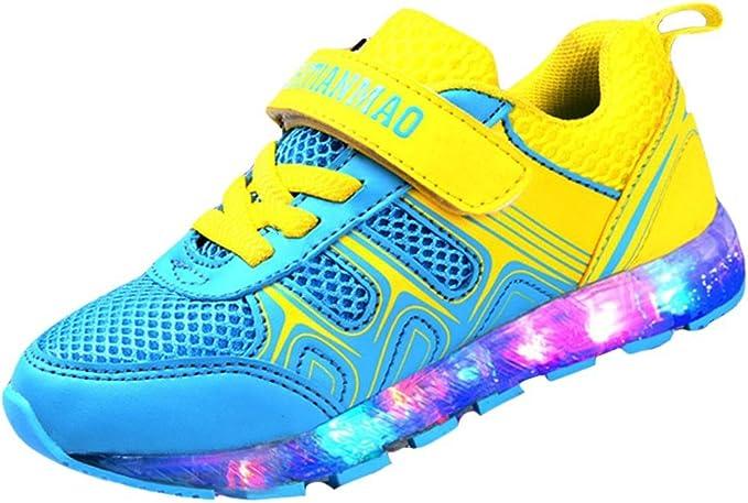 Kidslove [Zapatos led niños Zapatillas led niño Zapatos LED niña ...