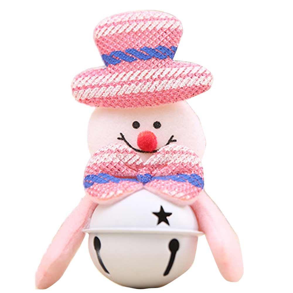 JPJ(TM) New❤️Tree Ornaments❤️1Pcs Home Christmas Hot Fashion Furnishing Decoration Tree Ornaments Small Bell (A)