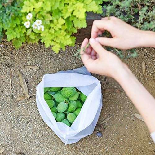 Reusable Produce Bags – Eco Green bags for Fruits and Veggies by flip & tumble (Image #3)