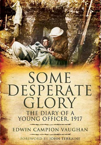 Some Desperate Glory: The Diary of a Young Officer, 1917