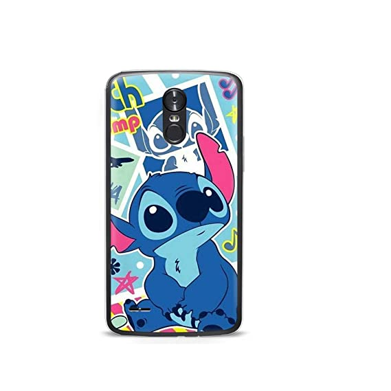 0ea09bd413 Amazon.com: GSPSTORE LG STYLO 3 case Lilo & Stitch Disney Cartoon ...