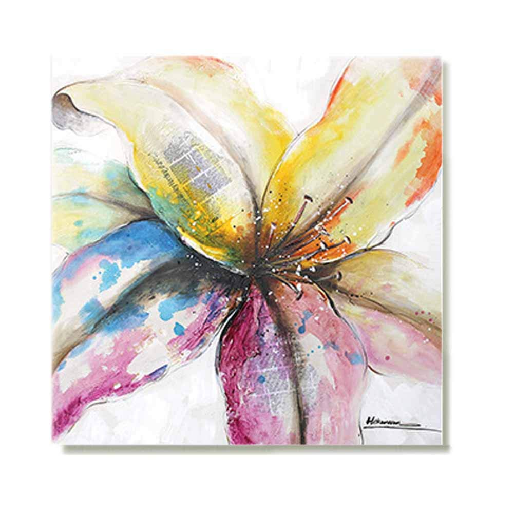 Amazon com fotee oil painting wall flower landscape creative painting painted oil painting decorative paintings interior corridor painting