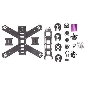 B Blesiya Marco Kit para Quad DIY Accesorios - QAV210 210mm ...