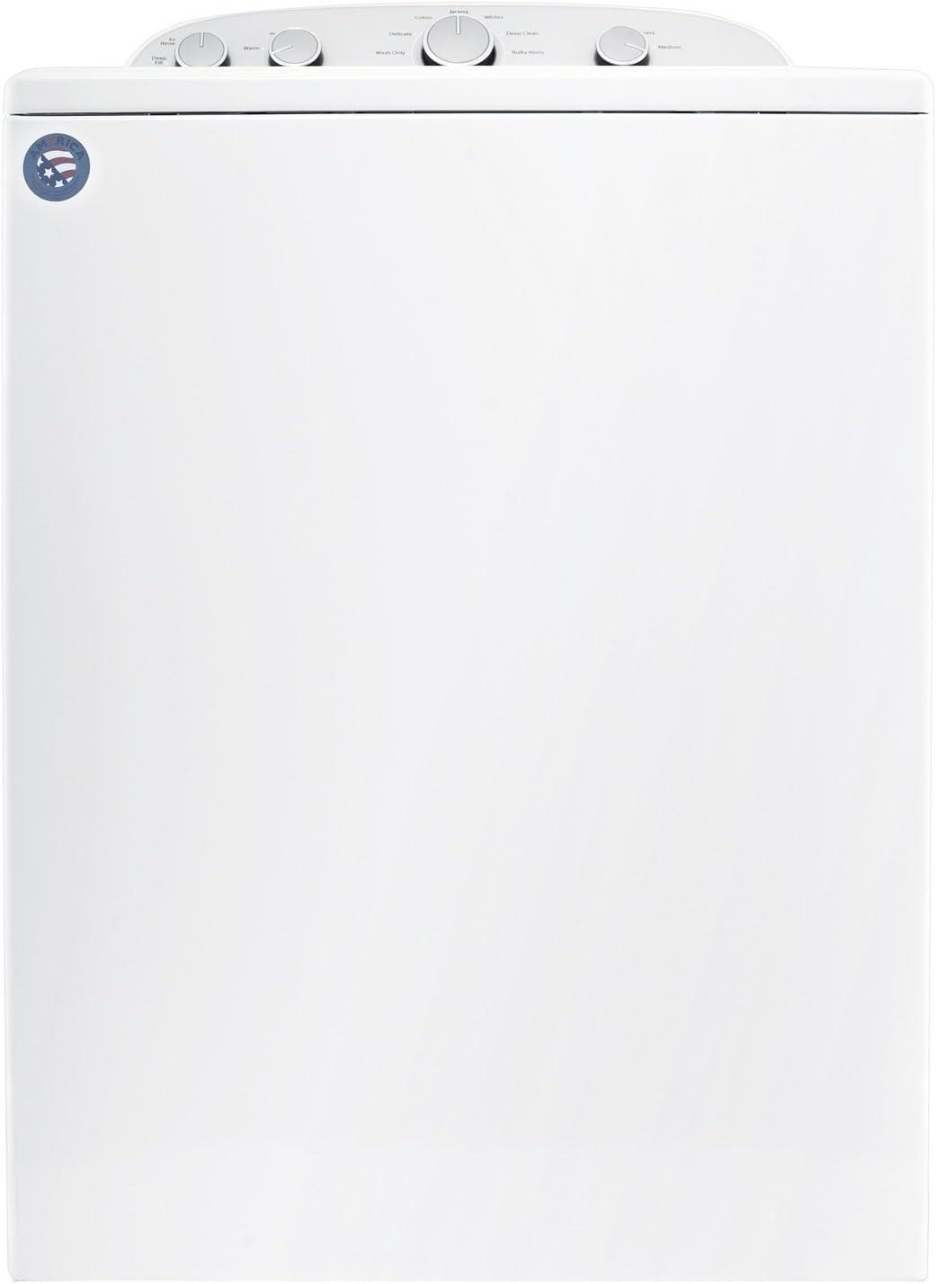 Whirlpool profesional carga superior 15kg gewerbe lavadora Blanco