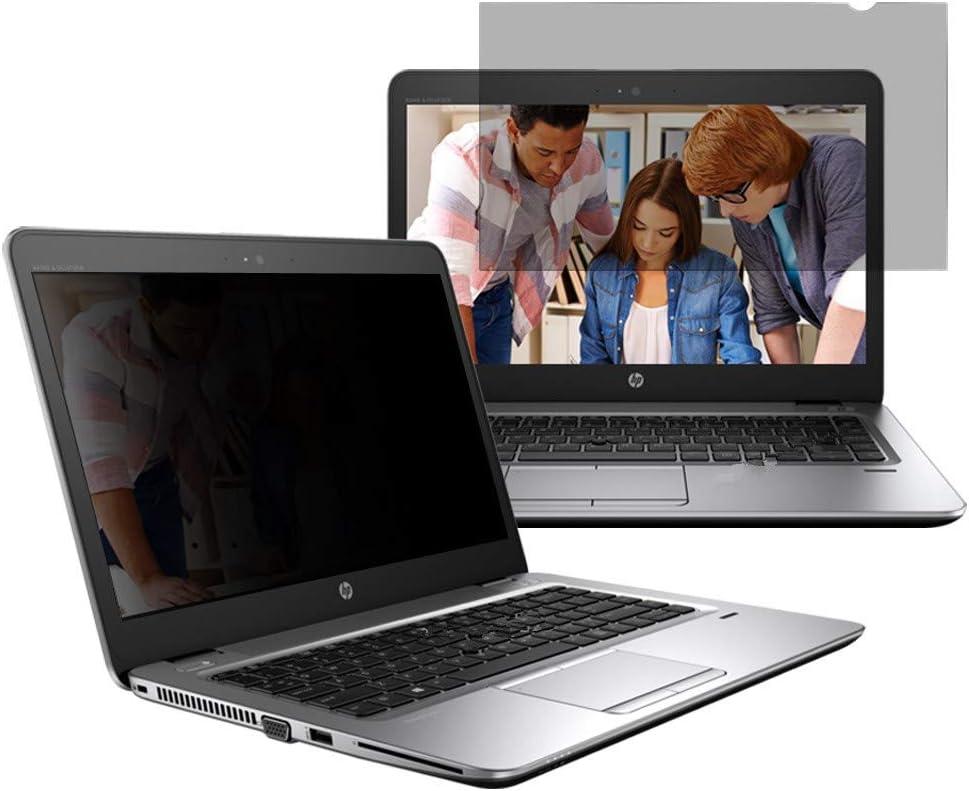 "13.3"" Laptop Privacy Screen Filter for (16:9) Black Security Shield - UV Blue Light Filter, Anti-Scratch, Anti-Glare"
