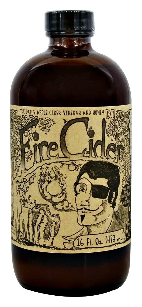 Shire City Herbals Fire Cider 16 Oz (12 Pack)