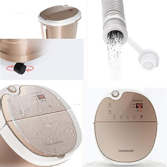 Bañera para pies Baño de pies eléctrico automático Baño de pies para calefacción Baño para pies: Amazon.es: Salud y cuidado personal