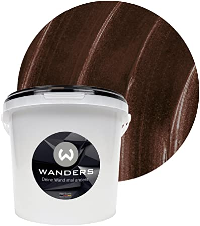 Wanders24 Effet Métal 3 L Chocolat Peinture à Effet
