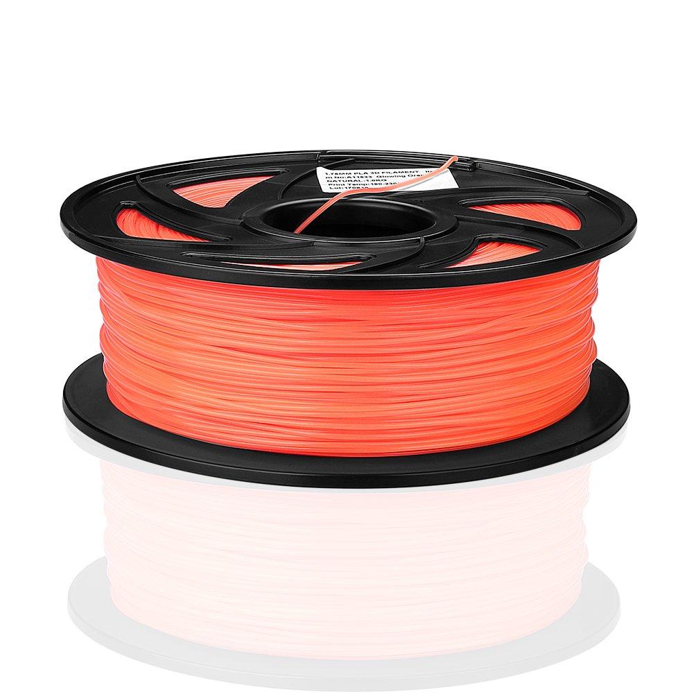 3D TwingKling Filamento Rojo SIENOC Filamento de la impresora de 1KG TwingKling 1.75mm para la impresora de FDM 3D