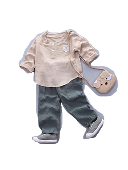 8aec2142c Amazon.com  FORESTIME 2Pcs Toddler Kid Fashion Cute Baby Boy Girl ...