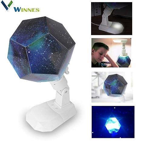 Winnes Star - Proyector de luz nocturna con 12 constelaciones, luz ...