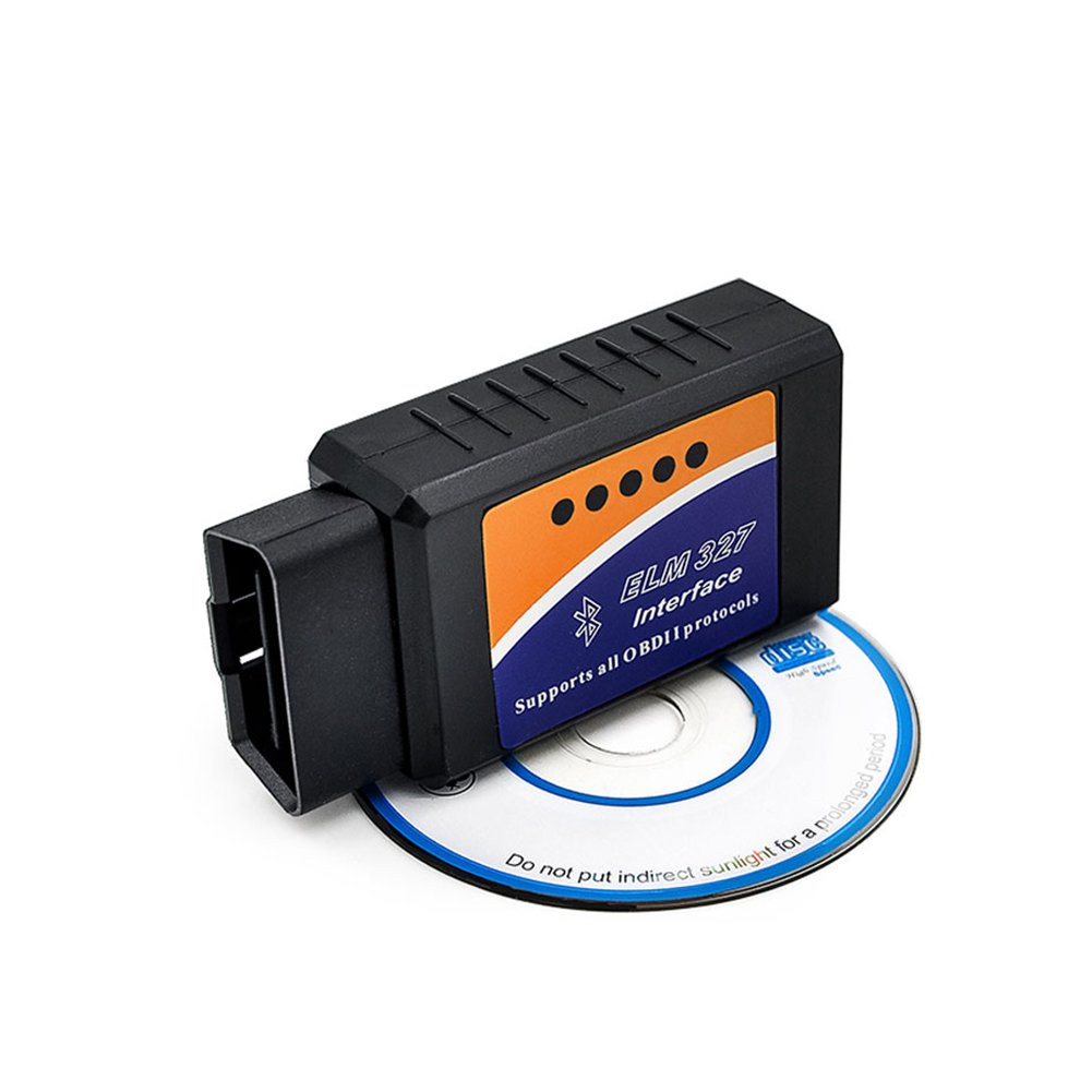 Car Bluetooth ELM327 OBD2 OBDII Auto Diagnostic Scanner Tool Adapter for Android Vgatemall