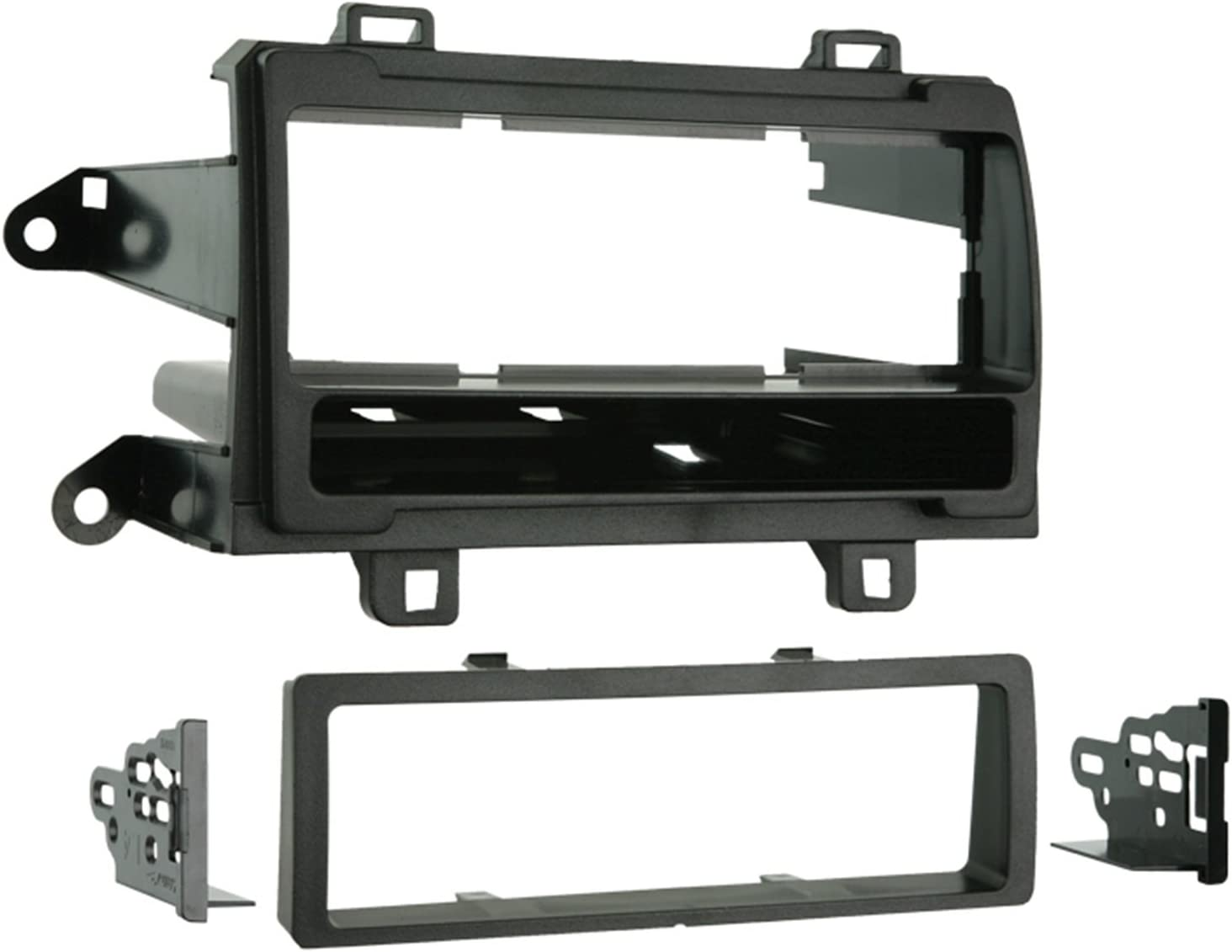Metra 99-8224 Single DIN Installation Dash Kit for 2009 Toyota Matrix and Pontiac Vibe