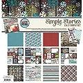 Simple Stories Snow Patrol Scrapbook Collection Kit