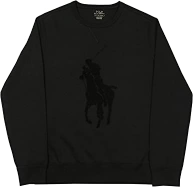 Polo Ralph Lauren Sudadera Big Logo Negro XXL Negro: Amazon.es ...