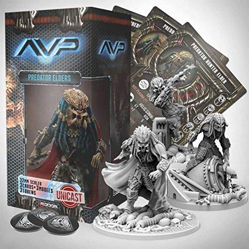 Amazon.com: AvP Tabletop Game The Hunt Begins Expansion Pack ...