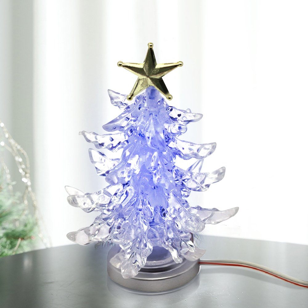 christmas lights Novelty Miniature Christmas Tree Shape Color ...
