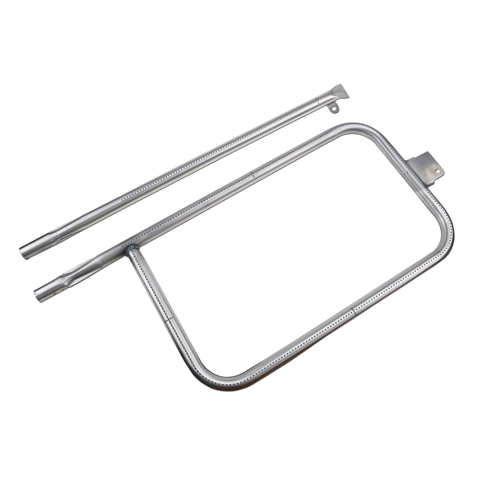 Uniflasy Stainless Steel Grill Burner Tube Repair Kit Replacement Parts for Weber Q300, Q320, Q3200, 404341, 57060001, 586002, 65032 Gas Grill Accessories