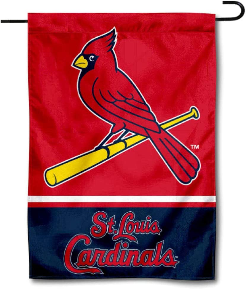 WinCraft St. Louis Cardinals Double Sided Garden Flag