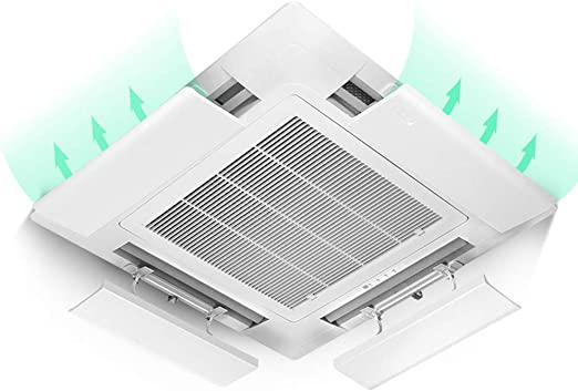 Household goods Deflector de Aire Acondicionado de Techo Central, Deflector de Aire Acondicionado Anti-Directo Deflector, Aire Acondicionado Ajustable Deflector de Aire Acondicionado Universal ZDDAB: Amazon.es: Hogar