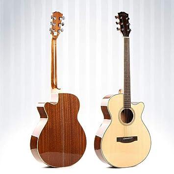 North King Guitarra Abeto Panel Material Chapa balada Pulgadas Cerrado Guitar Perilla bobinado Dispositivo Alto Grado Mano Hecha Sabilidi de Chapa para los ...