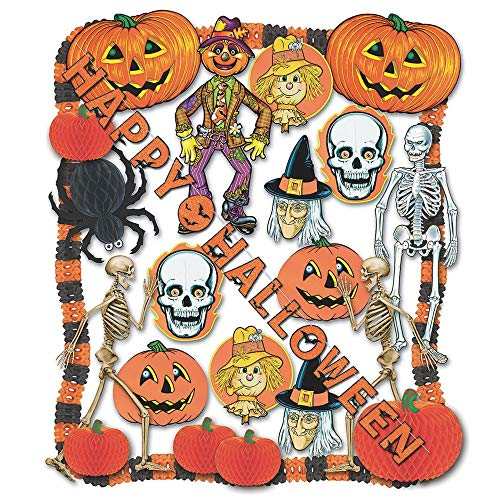 Halloween Decorating Kit - 24 Pcs Party Accessory (1 count)