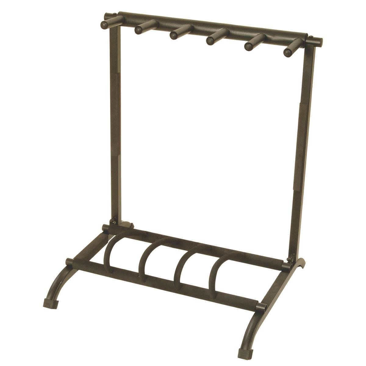 On Stage GS7561 Foldable 5 Space Multi-Guitar Stand