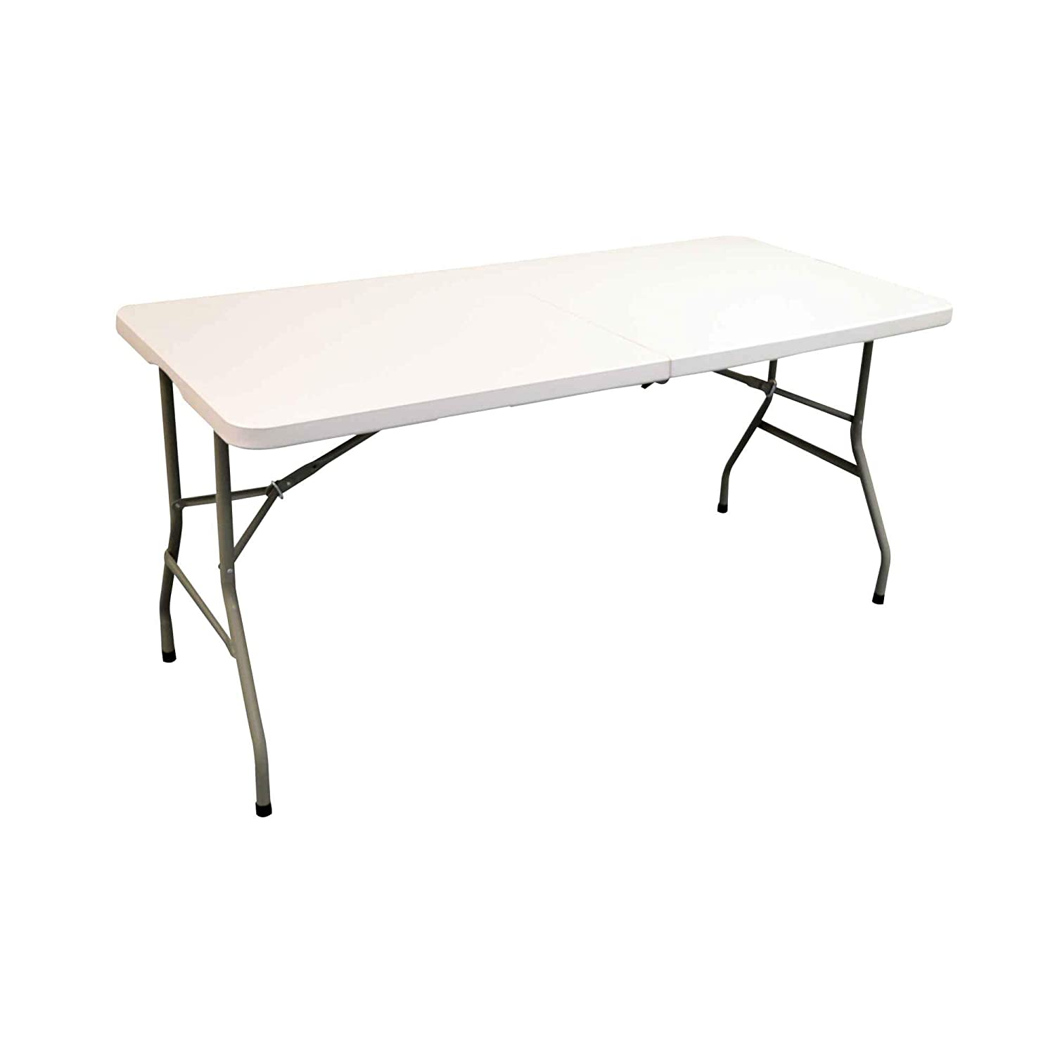 Harbour Housewares Folding, Events, Trestle Table - 5ft Long. Foldable. Easy To Store