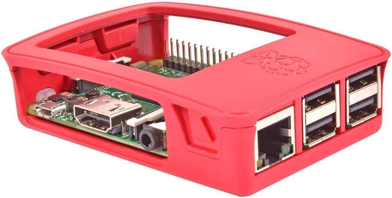 Red//White Official Raspberry Pi 3 Case