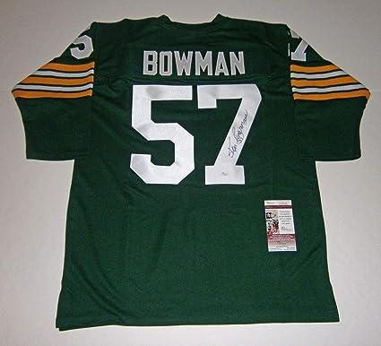 6a1753e6136 JSA COA Jerseys Brett Favre MVP Autographed Packers Custom Green Football  Jersey Sports Mem, ...