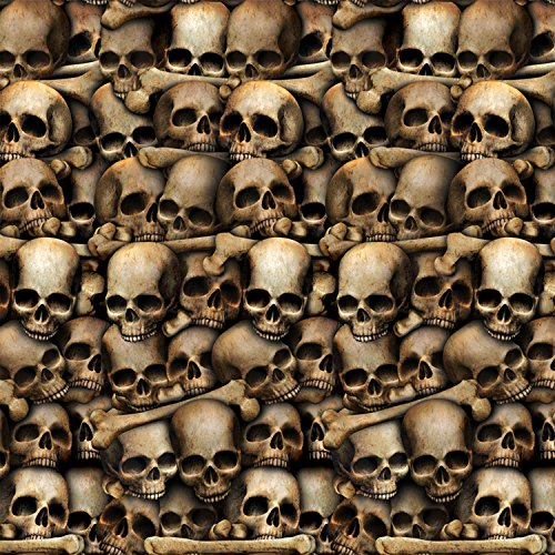beistle catacombs backdrop 4 feet by 30 feet - Halloween Decoration Sale