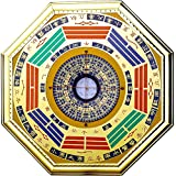 Chinese Feng Shui Compass Bagua Mirror (large)
