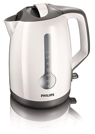 Philips HD4649/00 - Tetera eléctrica, 1,7 l, color blanco