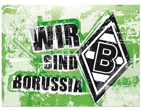 Borussia Monchengladbach Wir Sind Borussia We Are Borussia Canvas Print