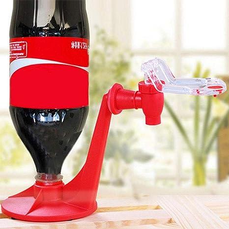 XuBa Dispensador Práctico Bebida Portátil Bebedero para Beber Máquina de Agua Rojo
