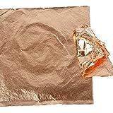 Creativ Imitation feuille métal, feuille 16x16 cm, cuivre, 25 feuille