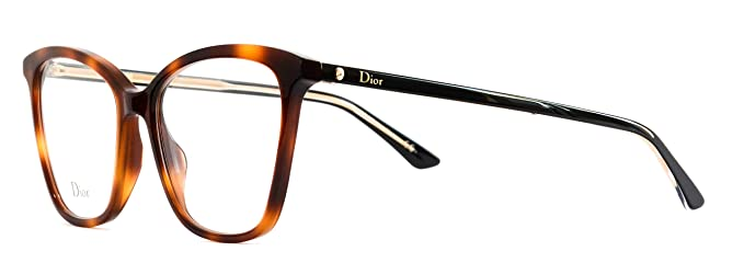 2088bea1e5f Image Unavailable. Image not available for. Color  Eyeglasses Dior  Montaigne 46 Color 58 Cateye ...