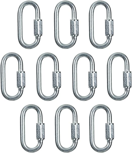"40 SNAP HOOKS QUICK LINK LOCK 3//16/""  NEW SALE"